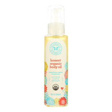 Organic Body Oil - 4 Oz