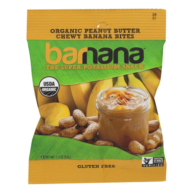 Banana Bites, Peanut Butter - Pack of 12 1.4-oz bags