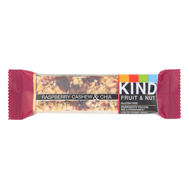 Raspberry Cashew Chia Bar - Pack of 12 1.4-oz bars
