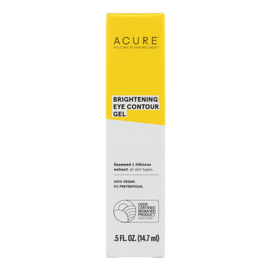 Acure - Gel - Eye Contour - .5 Fl Oz