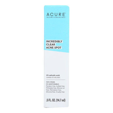 Acne Spot Treatment -  0.5 oz