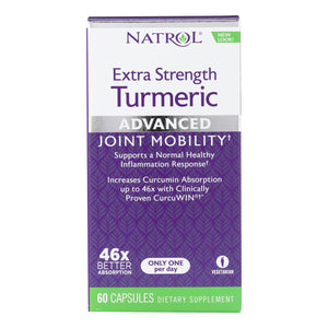 Turmeric Supplement, Extra Strength - 60 capsules