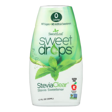 Stevia Drops, Clear - 1.7 Oz