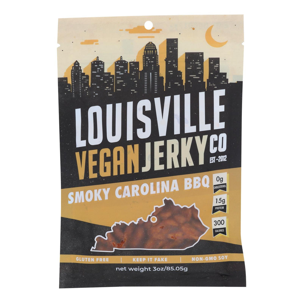 Vegan Jerky, BBQ - Pack of 10 3-oz bags
