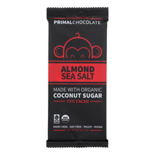 Load image into Gallery viewer, Paleo Chocolate Bar, Almond Sea Salt - Pack of 8 2.5-oz bars