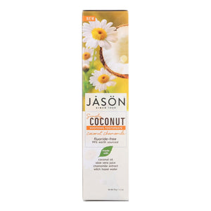 Jason Natural Products Soothing Toothpaste - Coconut Chamomile - 4.2 Oz
