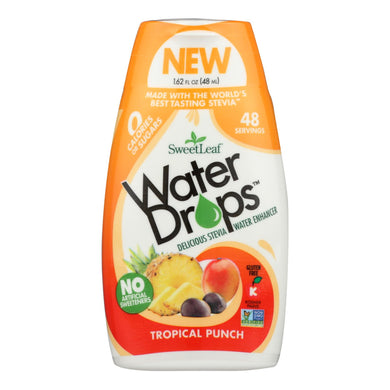 Stevia Water Drops, Tropical Punch - 1.62 fl oz