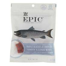 Load image into Gallery viewer, Epic - Jerky Bites - Salmon Maple Dill - Case Of 8 - 2.5 Oz.