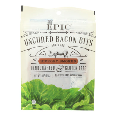 Hickory Smoked Bacon Bits - Pack of 10 3-oz bags