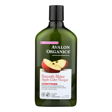 Avalon Conditioner - Smoothing - Apple Cider Vinegar - 11 Oz