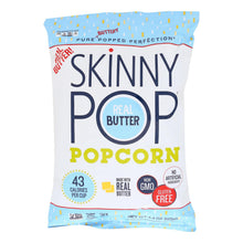 Load image into Gallery viewer, Skinnypop Popcorn Popcorn - Real Butter - Case Of 12 - 4.4 Oz
