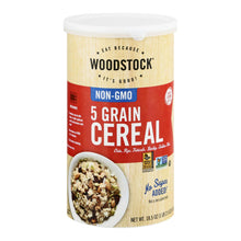 Load image into Gallery viewer, Woodstock 5 Grain Cereal - 18.5 Oz.