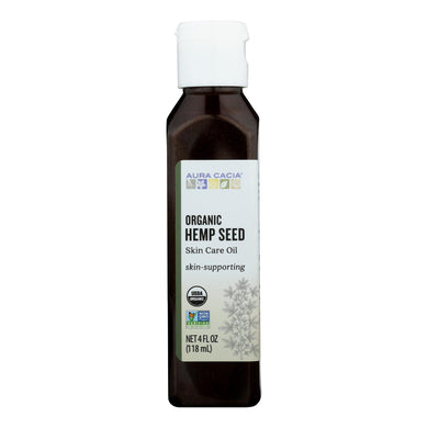 Body Oil, Organic Hemp Seed - 4 oz