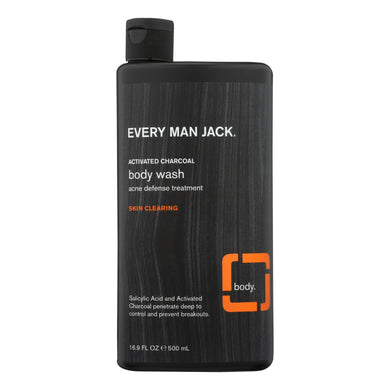 Body Wash, Activated Charcoal - 16.9 oz