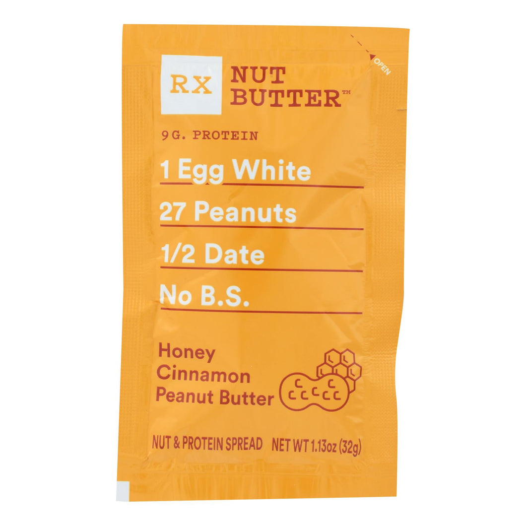 Honey Cinnamon Peanut Butter - Box of 10 1.13-oz packets