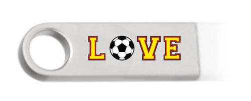 I love Football egyedi pendrive