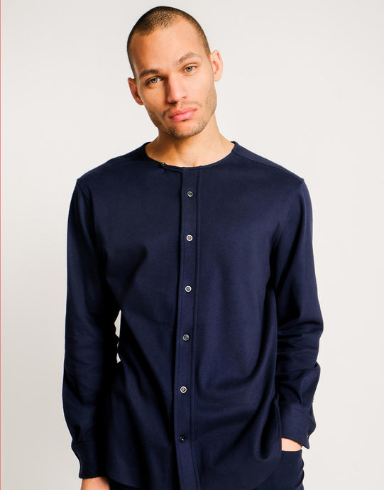 Nomad Collarless Shirt