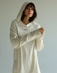 Voyager Raw Cut Heather Hoodie