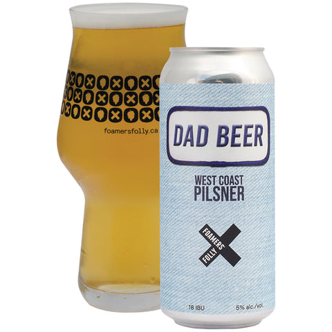 Dad Beer West Pilsner 4-Pack