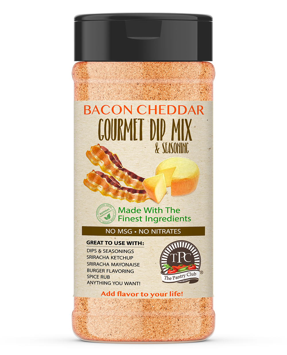 Bacon Cheddar - Gourmet Dip Mix (BULK JAR)