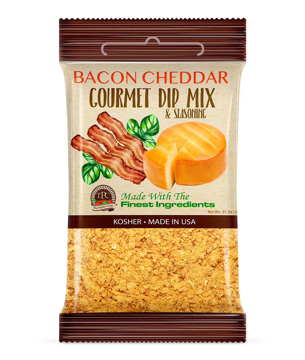 BACON CHEDDAR - GOURMET DIP MIX