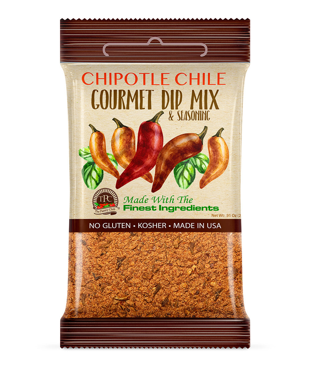 CHIPOTLE CHILE GOURMET DIP MIX (Gluten Free)