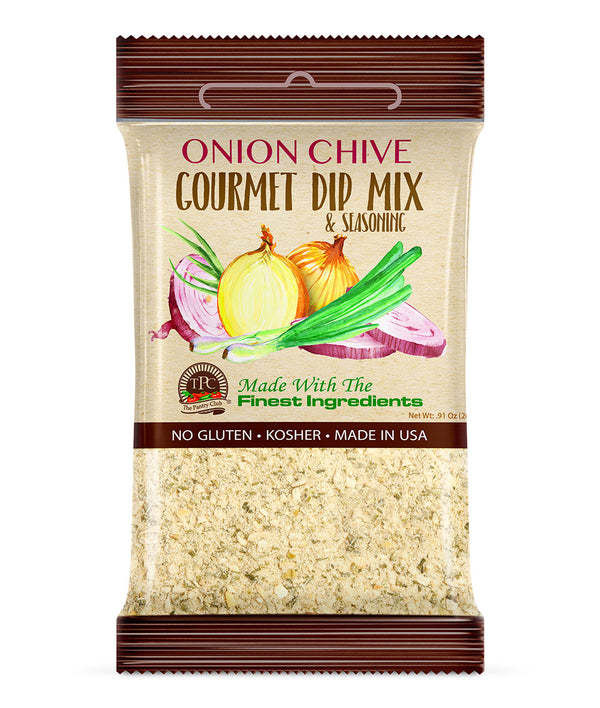 ONION CHIVE - GOURMET DIP MIX (Gluten Free)