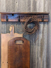 Load image into Gallery viewer, Barn Board Pegboard