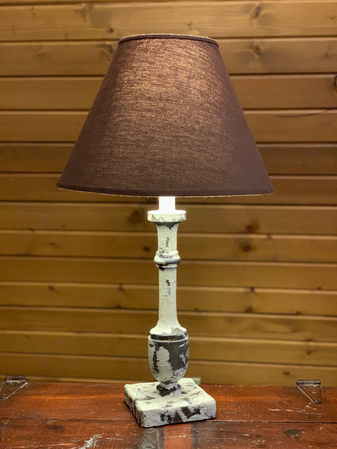 Post Lamp w/Shade *STORE PICKUP ONLY