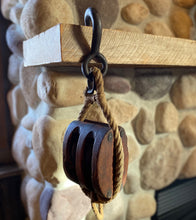 Load image into Gallery viewer, Vintage Barn Pulley