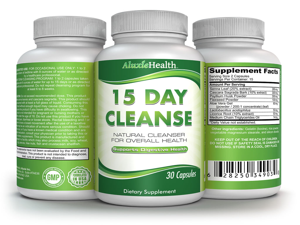 15 Day Quick Colon Cleanse