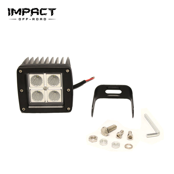 16W OffRoad Spot LED Fog Work Lights Driving Lamps For ATV SUV UTE Jeep