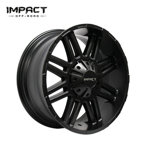 Impact Off Road Rims Wheels Interceptor Satin Black