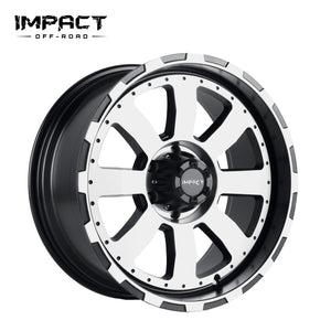 Impact Off Road Rims Wheels Destroyer Black Machine Face