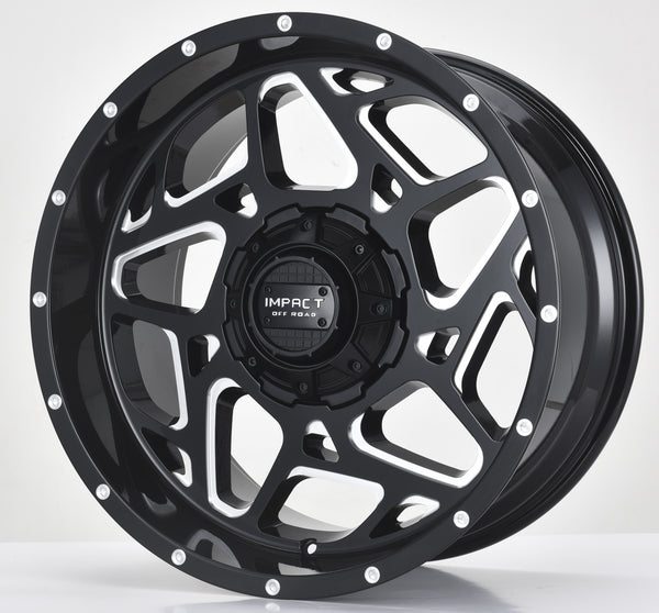Impact Off Road Rims Wheels Style 822