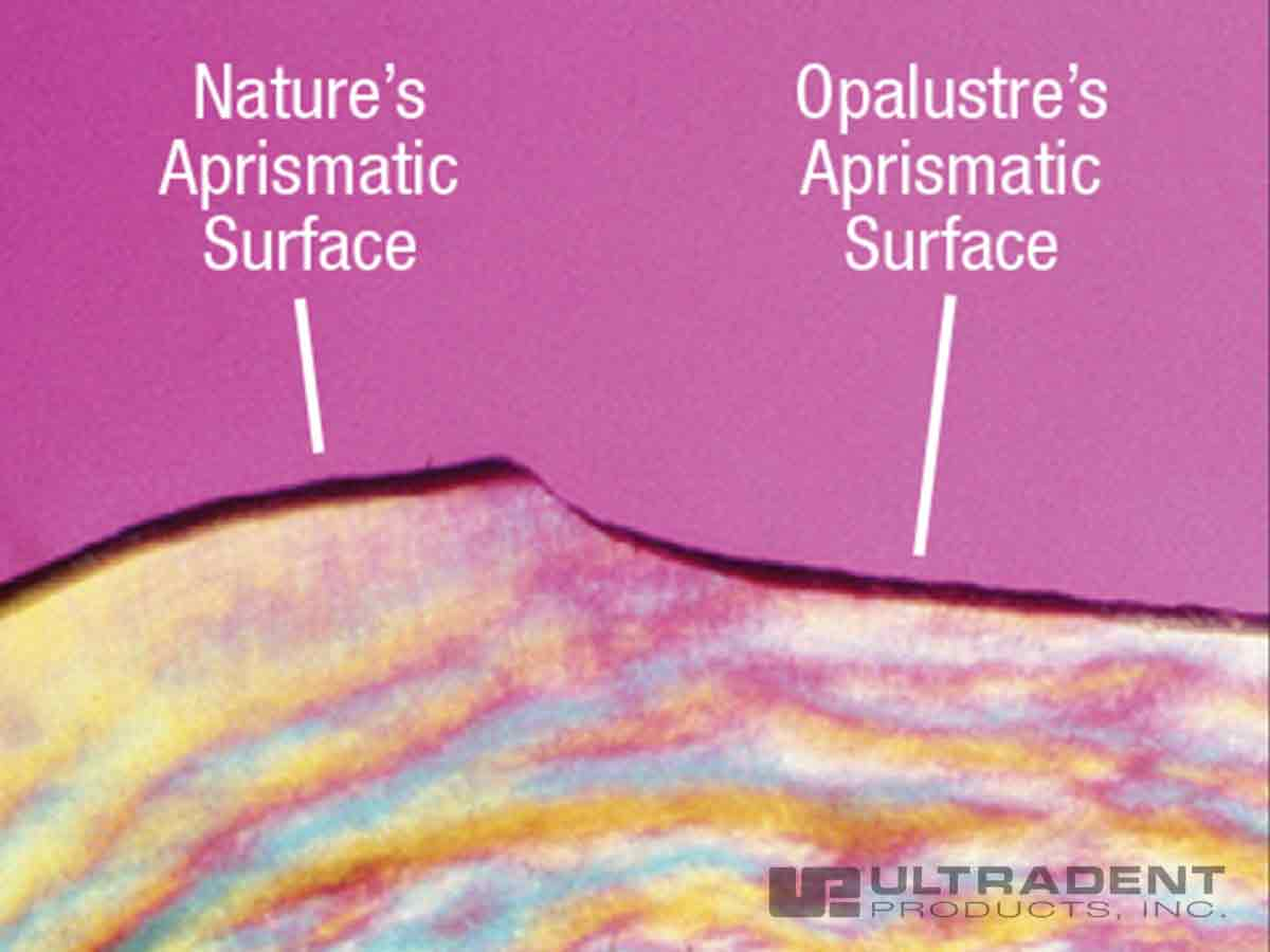 Chemical and mechanical abrasion produce a natural-looking surface