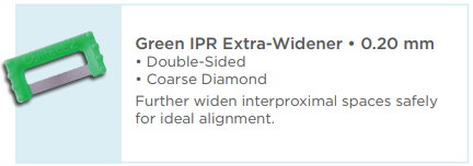 Green IPR Extra-Widener 0.20mm
