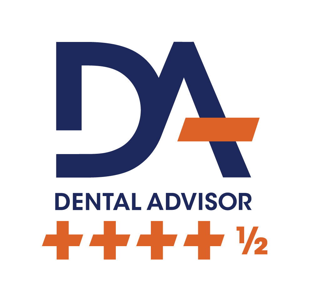 Dental Advisor four and a half starts rating