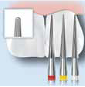 Komet FS6F H134F Tungsten Carbide Facial Surface Trimming Bur Clinical Technique