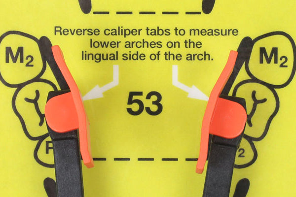 HeatWave Calipers Size Chart