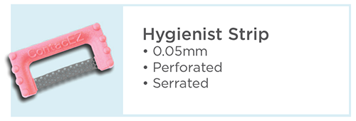 ContacEZ Hygienist Pink Strip Technical Details