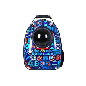 Space bag bleu kindlypets