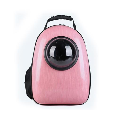 The space bag de couleur rose kindlypets