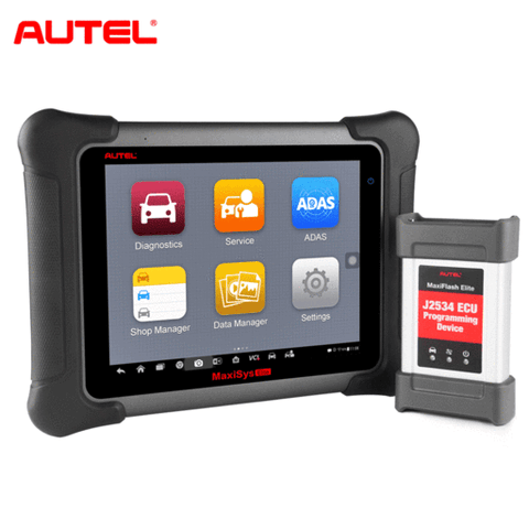 Image of Autel Maxisys Elite Diagnostic Tool with J2534 ECU Programming, Upgraded Version of MS908P