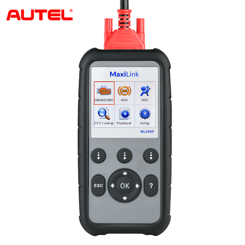 Image of Autel MaxiLink ML609P Car Code Reader Read & Clear Codes On Engine/SRS/ABS Systems