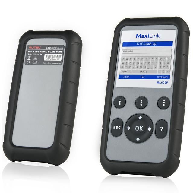 Autel MaxiLink ML609P Car Code Reader Read & Clear Codes On Engine/SRS/ABS Systems