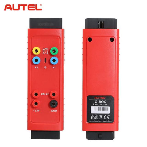 Image of Autel GBox G-BOX2 Tool Benz & BMW Adapter GBox2 Mercedes Benz All Key Lost Tool Used with MaxiIM IM508 IM608