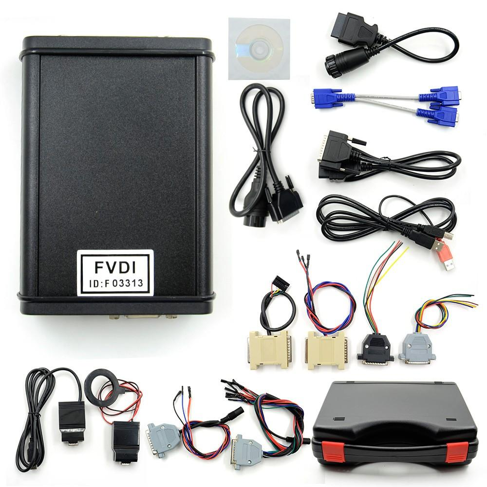 FVDI ABRITES Commander Diagnostic Scanner 18 Software (Full Set)