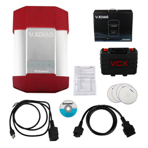 VXDIAG MULTI Diagnostic Tool for TOYOTA + HONDA + Land Rover/Jaguar JLR 3 IN 1 Support Original Software WIFI version