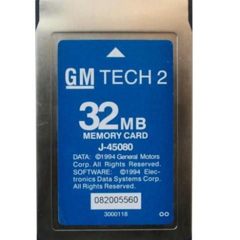 Software Card For Tech 2 Diagnostic Tool GM/Opel/Suzuki/Isuzu/Saab/Holden